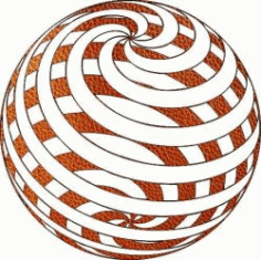 3d Sphere Image Causing Illusion For Laser Cut Plasma Free DXF File