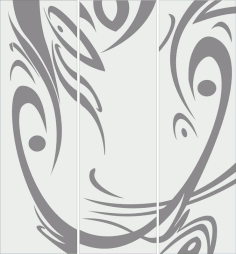 Abstract Sandblast Design Free Vector File