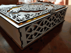 Amazing Laser Cut Box Ideas Free DXF File