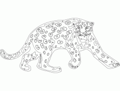 Animal Mascots Lion Free DXF File