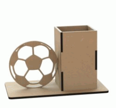 Ball Pen Holder For Laser Cut Free DXF File