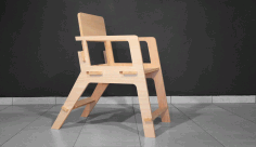 Chair Test Cutting Free DXF File