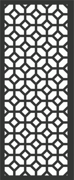 Decorative Screen Patterns For Laser Cutting 175 Free DXF File
