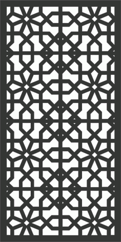Decorative Screen Patterns For Laser Cutting 179 Free DXF File