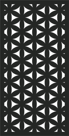 Decorative Screen Patterns For Laser Cutting 183 Free DXF File