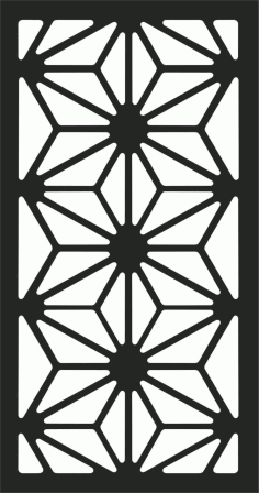 Decorative Screen Patterns For Laser Cutting 190 Free DXF File