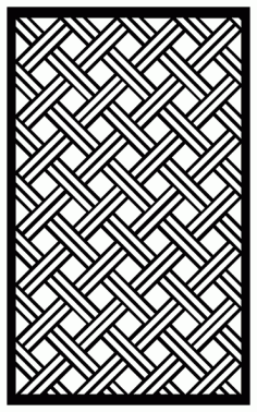Decorative Screen Patterns For Laser Cutting 1930 Free DXF File