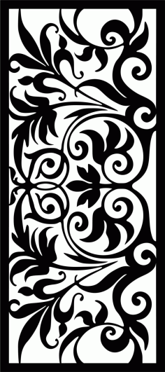 Decorative Screen Patterns For Laser Cutting 32 Free DXF File