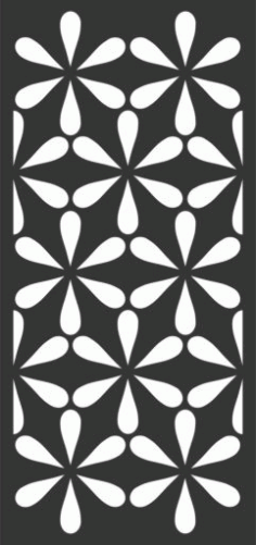 Decorative Screen Patterns For Laser Cutting 52 Free DXF File