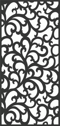 Decorative Screen Patterns For Laser Cutting 66 Free DXF File