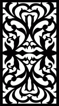 Decorative Screen Patterns For Laser Cutting 9 Free DXF File