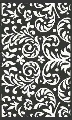 Decorative Screen Patterns For Laser Cutting 92 Free DXF File