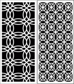 Design Pattern Panel Screen 6058 For Laser Cut Cnc Free DXF File