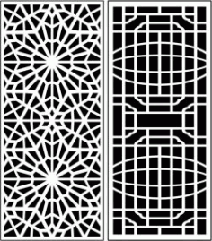 Design Pattern Panel Screen 6060 For Laser Cut Cnc Free DXF File