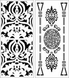Design Pattern Panel Screen 6111 For Laser Cut Cnc Free DXF File