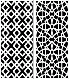 Design Pattern Panel Screen 6204 For Laser Cut Cnc Free DXF File