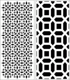 Design Pattern Panel Screen 6243 For Laser Cut Cnc Free DXF File