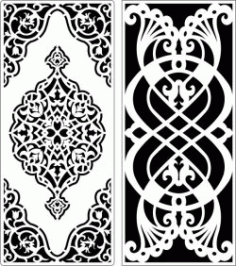 Design Pattern Panel Screen 6247 For Laser Cut Cnc Free DXF File