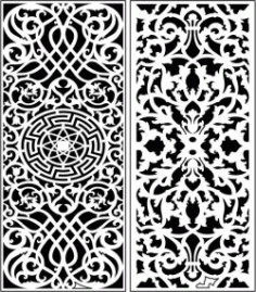 Design Pattern Panel Screen 6311 For Laser Cut Cnc Free DXF File