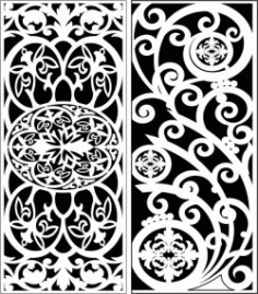 Design Pattern Panel Screen 6313 For Laser Cut Cnc Free DXF File