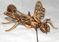Dragon Fly Corn For Laser Cut Cnc Free DXF File