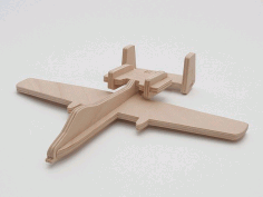 Fairchild a-10 Laser Cut Inspiration Free DXF File