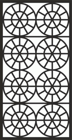 Grate Design Pattern Free DXF File