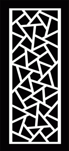 Grille Panel Pattern Free DXF File