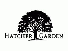 Hatcher Logo 300 Free DXF File