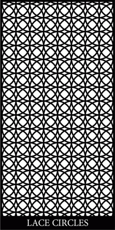 Lace Circles Free DXF File