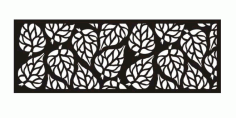 Laser Cut Screen Wall Hanging Free DXF File