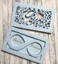 Laser Cut Wedding Box For Engagement Rings Free Vector File