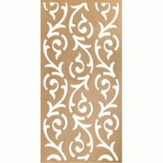 Mdf Decorative Grill Free DXF File