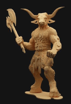 Minotaur L 3 Mm Free DXF File