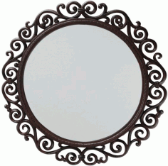 Mirror Free DXF File