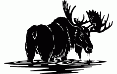 Moose 2 Free DXF File