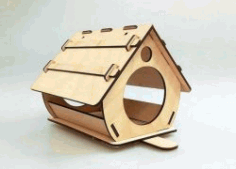 Nesting Houses To House Birds For Laser Cut Cnc Free DXF File