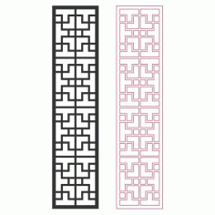 Pattern Designs 2d Grille Free DXF File
