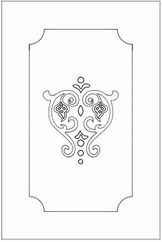 Patterns For Door Free DXF File