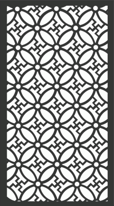 Screen Panel Patterns Seamless 102 Free DXF File