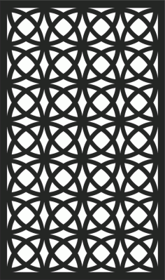 Screen Panel Patterns Seamless 14 Free DXF File