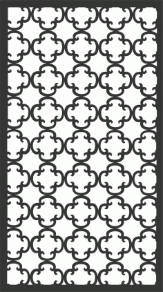 Screen Panel Patterns Seamless 22 Free DXF File