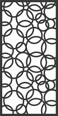 Screen Panel Patterns Seamless 27 Free DXF File