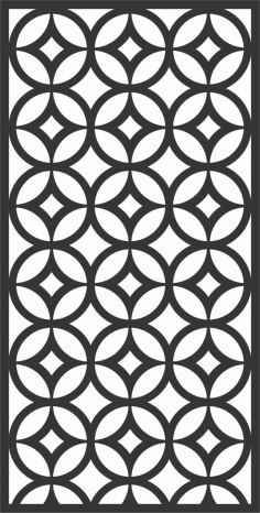 Screen Panel Patterns Seamless 28 Free DXF File