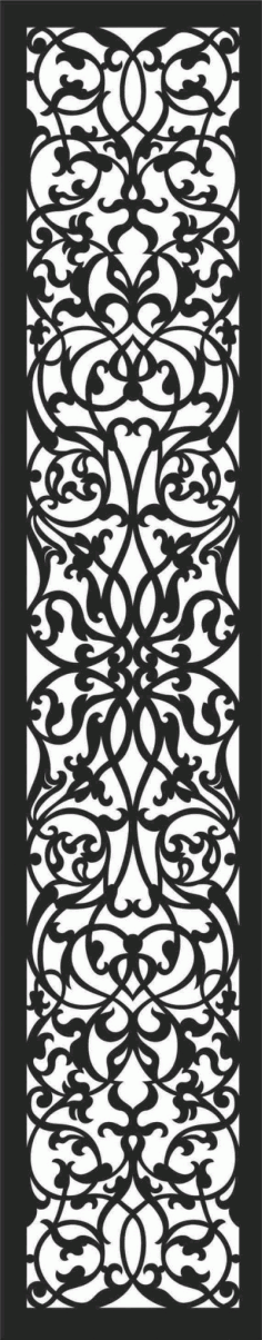 Screen Panel Patterns Seamless 3 Free DXF File