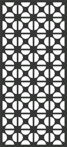 Screen Panel Patterns Seamless 32 Free DXF File