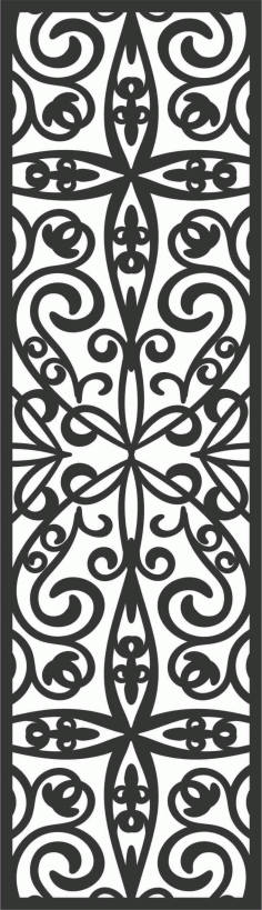 Screen Panel Patterns Seamless 34 Free DXF File