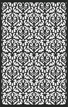 Screen Panel Patterns Seamless 43 Free DXF File