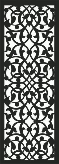 Screen Panel Patterns Seamless 58 Free DXF File