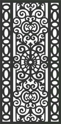 Screen Panel Patterns Seamless 77 Free DXF File
